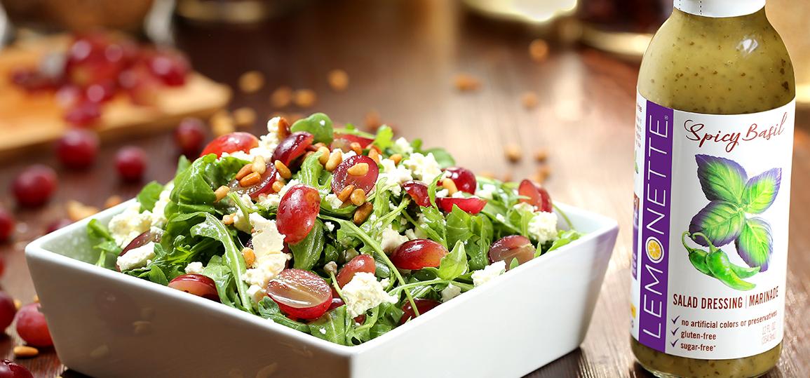 Mediterranean Arugula Salad