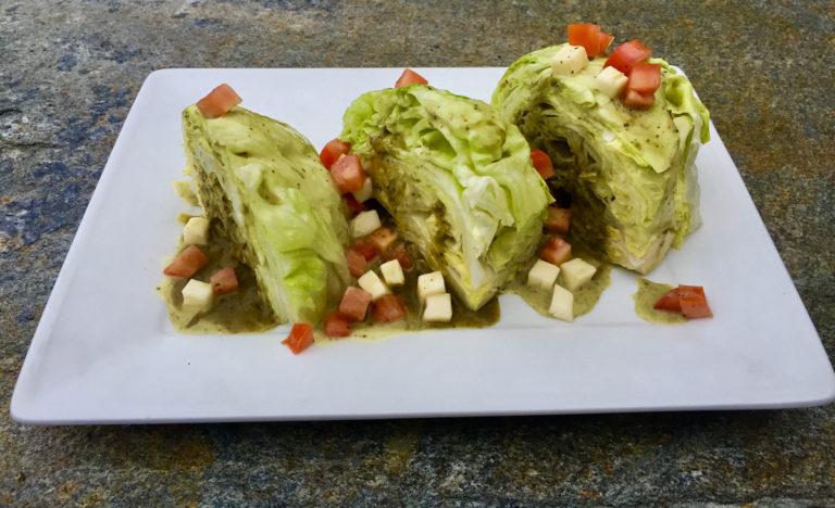 caprese wedge salad