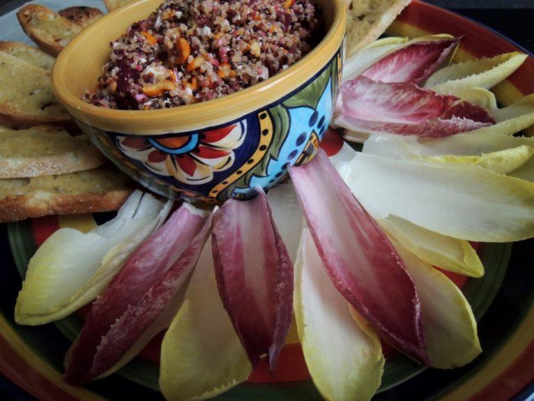 Quinoa Appetizer Wheel